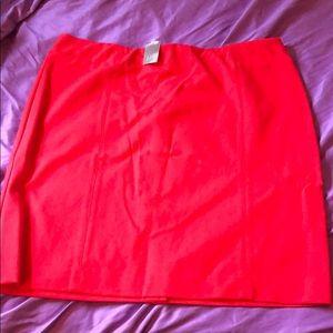 New J Jill ponte pencil skirt